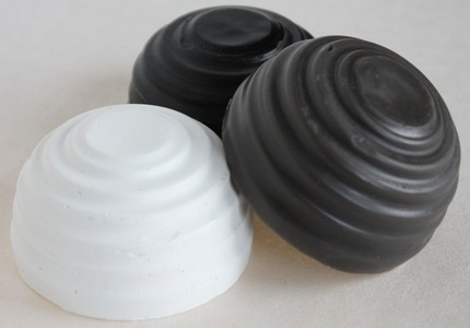 The Bee's Knees Encaustics - 3 Set Black, White & Pewter Grey Encaustic Paints