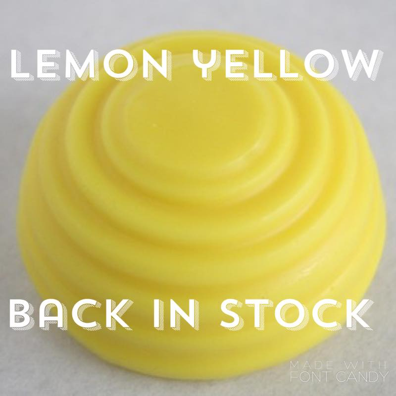 Zesty Lemon encaustic paint hive